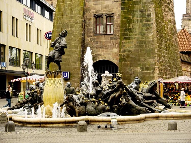 фонтан Супружеская Карусель