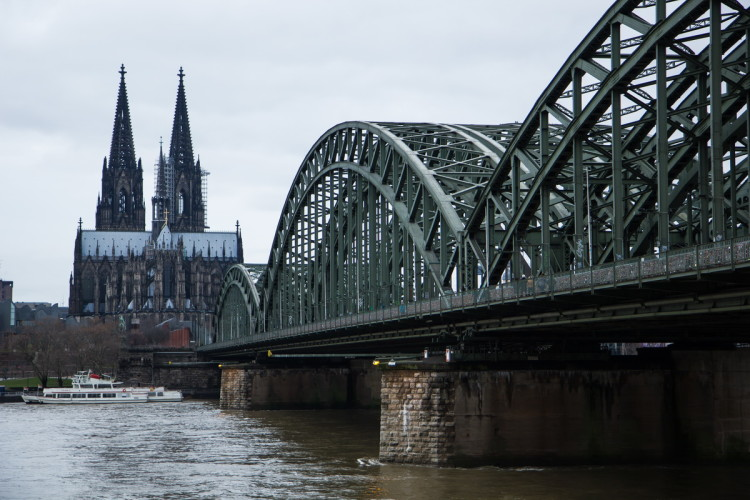 Кёльнский мост Гогенцолернов