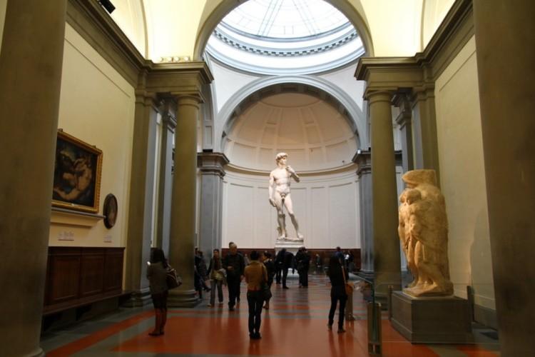 оригинальная статуя Давида