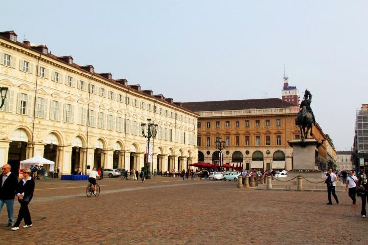 Площадь Пьяцца Сан-Карло